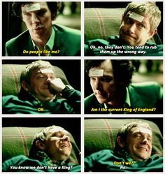 Drunk John and Sherlock was the best- I would have been happy for this scene go on for fifteen minutes.