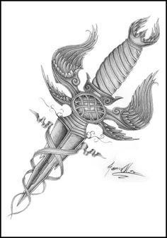 dagger tattoo designs - Google Search