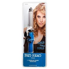Bed Head Curling Iron (1', Teal) >>> Review more details here : Travel Hair care