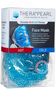 TheraPearl Hot and Cold Therapy Full Face Mask