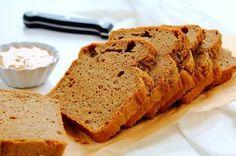 Grain Free Cashew Butter Bread by Peachy Palate