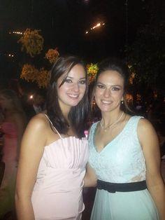 Lu Cagnoni e Fernanda Souza de Delphina