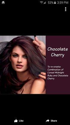 ... Cherry Hair on Pinterest | Cherry Hair, Chocolate Cherry Hair Color