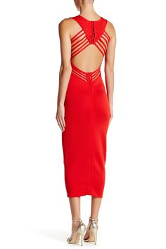 Wow Couture - Strappy Back Bodycon Maxi Dress at Nordstrom Rack. Free Shipping on orders over $100.