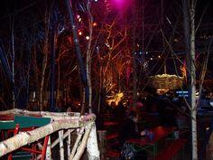 Tollwood Winter Festival Munich   - Wood Bar -
