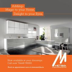 We believe in creating value and making dreams come true. Adding Magic to Your Home, Delight to Your Eyes. Wish you delightful designs 😊 ➡️ Our Store At Your Door Step. 📞 Call us : +91 7738392159 ➡️ Visit Our Web Site http://www.metrika.in/ #MetrikaKitchens #Modularkitchens #beds #wardrobe #Homemakers #MetrikaDesign #CustomizedKitchenDesign #ModernIdeas #StylishKitchen #EasyCleaning #CustomizedKitchenSolutions #FinishedProduct