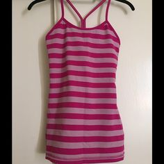 Lululemon Power Y Tank Only worn once! lululemon athletica Tops Tank Tops