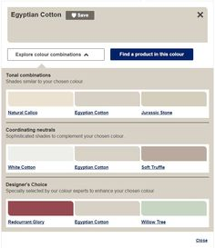 Dulux offer a great tool to find the right colour palettes for your home #loftconversion #interiordesign