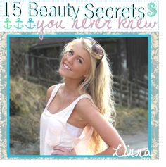 """""""15 BEAUTY SECRETS ♥(:"""" by the-tip-jarxx ❤ liked on Polyvore"""