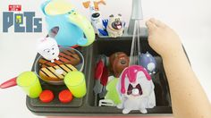 Secret Life of Pets are Cooking ribs chicke and hot dogs. Later we are Washing Dishes on the Stovetop Faucet Sink Playset for Kids to LEARN COLORS. This is an educational learning video with toys that can help with eye-hand coordination fine motor skills and learning English as a second language (ESL).  Subscribe here to never miss a video: https://www.youtube.com/channel/UCsRW8ikkc-uISUXtNKBfFcw?sub_confirmation=1  - Watch my last video: https://youtu.be/p6XOP9ucv9s  Sparkle Spice is a…