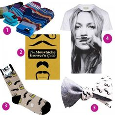 Look fan-tache-tic this Movember with our 'moust' have selection of handpicked pieces that are sure to compliment your budding fuzz. Commit to your coiffure and shop to support Men's health and awareness this month. From bow ties right down to your skivvies, we'll keep you looking as fresh as your cookie duster.
