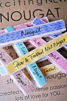 Melissa's Nougat... #sweet Nougat Sweet, Home Gifts, Passion, Food, Essen, Yemek, Eten, Meals