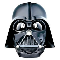 Join the dark side of the force with the Darth Vader Voice Changer Helmet. This helmet looks like the one worn by Darth Vader and changes your voice to sound like the Sith Lord's. It also has a button that plays breathing effects and choice quotes.