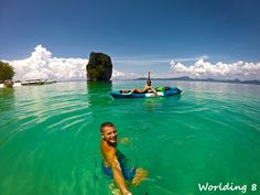 En Kayak buscando Poda Island!
