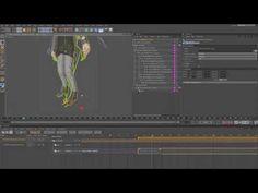 Cinema 4D Tutorial - Applying motion capture files (C4D MoCap Data)