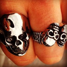 Badass new rings from #BarrenCulture visit barrenculture.com for more!