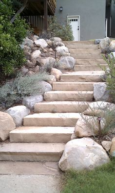 Flagstone Stairs