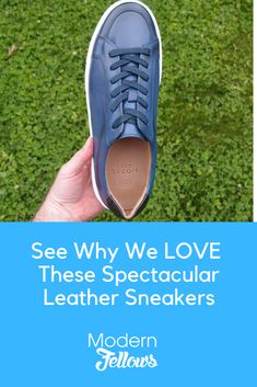 Here's my quick review on my now not-so-new Alec leather lace-up sneakersfrom menswear startup @moralcode / Moral Code: Leather Dress Shoes, Leather And Lace, Leather Trainers, Leather Sneakers, Fashion Books, Women's Fashion, Business Casual Dresses, Men's Fashion Brands, Mens Essentials