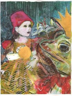 maria pace-wynters art | Maria Pace-Wynters - Frog prince | Art of Maria Pace Wynters