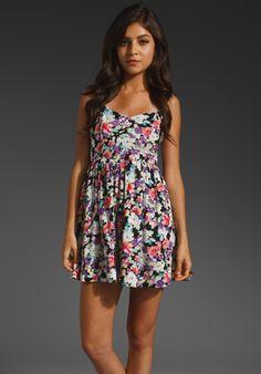 MINKPINK Lollie Tie Back Dress in Multi