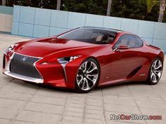Lexus LF LC Concept.....unveiled at the 2012 North American International Auto Show