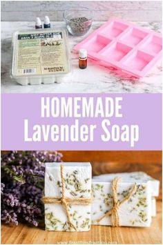 Clarifying Shampoo Diy, Diy Shampoo, Shampoo Bar, Homemade Soap Recipes, Homemade Gifts, Diy Gifts, Soap Colorants, Glycerin Soap, Castile Soap