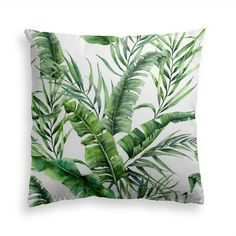Try our JUNGLE LEAVES throw pillow. Get your home ready for the next summer with this lush and luxurious floral motives pattern. This design will add a dash of jungle essence to all your style occasions. This premium feel moisture-wicking pillow with a shape-retaining insert is just what you're looking for! It'll make any room luxurious and provide the perfect excuse for a quick power nap. Floral Pillows, Decorative Throw Pillows, Botanical Decor, Room With Plants, Tropical Decor, Tropical Leaves, Leaf Prints, Pillow Covers, Power Nap