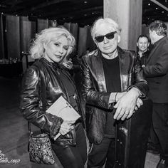 @dmvc~Debbie Harry and Chris Stein attend the 'Blondie 4(0) Ever' Exhibition Opening at Morrison Hotel Gallery on May 9, 2014 in New York City. Photo by Joe Russo.