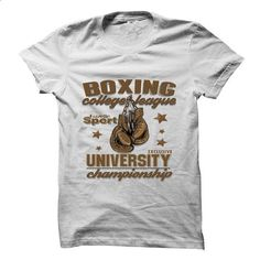 boxing college league - #linen shirts #offensive shirts. ORDER NOW => https://www.sunfrog.com/Sports/boxing-college-league-.html?60505