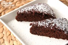Torta light al cacao - 10fette 146kcal / 8 fette 183kcal