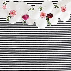 Paper Flower Balloon Garland Kit