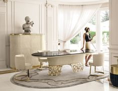 Dining tables | Tables | Clairmont | Longhi | Giuseppe Iasparra. Check it out on Architonic