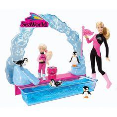 Join Barbie in training the Seaworld Penguins! #BarbiesFavorites