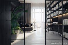 Apartament w Krakowie. Projekt wnętrz: KUOO/ARCHITECTS