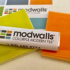 With Modwalls Tile Samples you get Pez! Retro candy with Mod Tile. Get your samples via link in our Bio.  Photo by @konstrukcio . #modwalls #tiles #tilesamples #sampletile #pez #americanmade #interiordesign #freshtile #colorsyoucrave #modernhomes #colorwins #midcenturymodern #design #interiordesigner #goodbusiness #designedtodelight #delightful
