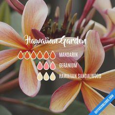 Hawaiian Garden - Essential Oil Diffuser Blend