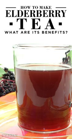 Remember when you had a bad cold, and your mother would always feed you elderberry syrup? It tasted sweet and helped you recover soon. Elderberry tea is pretty much the same.