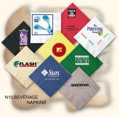 Do you know how hard it is to find the best sellers for custom beverage napkins? Well, I do. And it took me quite awhile before settling on someone and trusting them with business.
