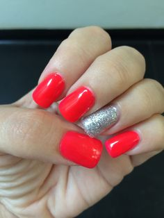 Red color&silver