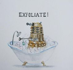 Dalek bubble bath