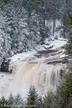 Blackwater Falls - Blackwater Falls State Park - West Virginia by Kevn Funk Photography via flickr