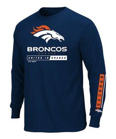 Outfit him for game day or any day in this handsome tee, designed with the colors and logo of his favorite NFL team. Mens Big And Tall, Big & Tall, Denver Broncos Football, Long Sleeve Tees, Handsome, Sweatshirts, Nfl, Sweaters, Profile