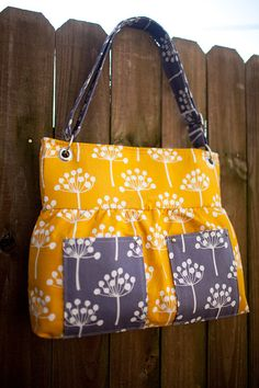 lotta jansdotter fabric- love the grommets