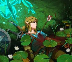 The Legend Of Zelda, Legend Of Zelda Breath, Link Art, Link Zelda, Breath Of The Wild, Marvel, Game Character, Cute Art, All Art