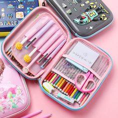 Stationary School, Cute Stationary, School Stationery, Unicorn Pencil Case, Cute Pencil Case, Large Pencil Case, Pencil Boxes, Pencil Pouch, School Pencil Case