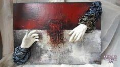 Διακοσμητικός χειροποίητος πίνακας φτιαγμένος με μεικτές τεχνικές και οικολογικά υλικά σκλήρυνσης Powertex   Διαστάσεις: 59Χ70   Κωδικός Νο: 82 Mixed Media, Mixed Media Art