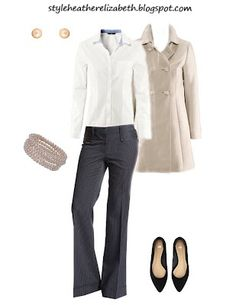 Modern Twist on a Traditional Career Outfit.  (H and Forever21)