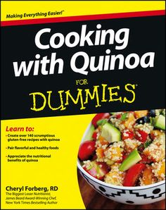 Cooking with Quinoa For Dummies:Book Information - For Dummies