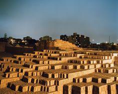 Huaca Pucllana: pre-Incan burial structure in Lima, Peru.
