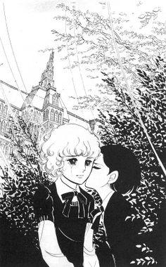 """萩尾望都 トーマの心臓 """"他们说一个人有两次死亡, 一次是自身死去,而后一次是被朋友忘记。 因此 我永远不会有第二次死亡 他会死也不会忘记我 于是 我仍然活着…… 活在他的心中"""""""